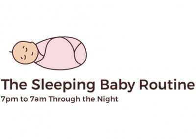 The Sleeping Baby Routine