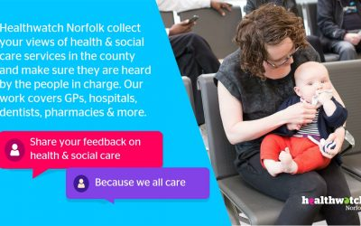 Why sharing your experience about care is so important